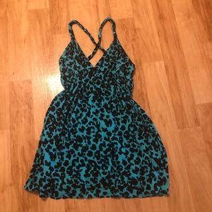 NWT leopard dress/coverup